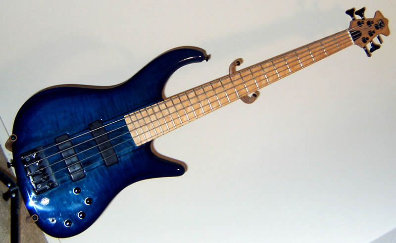 Ken Lawrence 5 String Bass